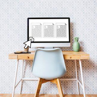 Modern desk + EC